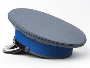 Czapka policyjna młodszy oficer