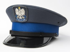 Czapka policyjna podoficerska