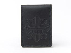 Etui na legitymację i odznakę policyjną logo