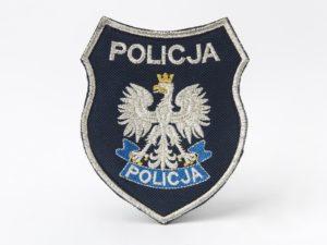 Naszywka policyjna tarcza