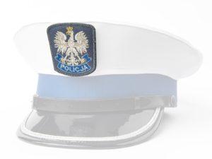Orzeł z rzepem na czapkę policyjną