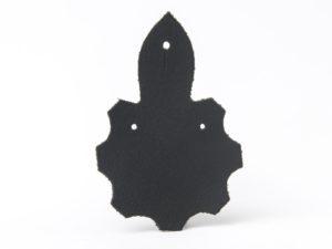 Podkładka pod odznakę duża czarna
