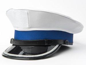 Pokrowiec z rzepem na czapkę policyjną