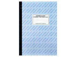 Dziennik służby ochrony trzypozycyjny