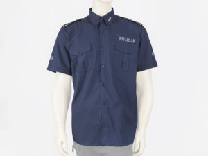 Koszula policyjna z krótkim rękawem