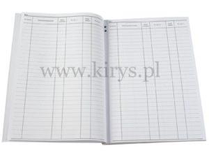 Książka ewidencji kluczy