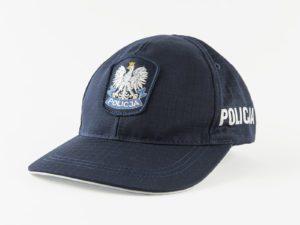 Czapka policyjna z daszkiem z ripstopu
