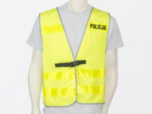 Kamizelka odblaskowa policyjna pełna