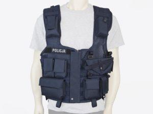 Kamizelka taktyczna policyjna granatowa pełna