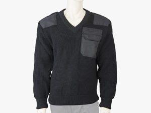 Sweter służbowy z dekoltem